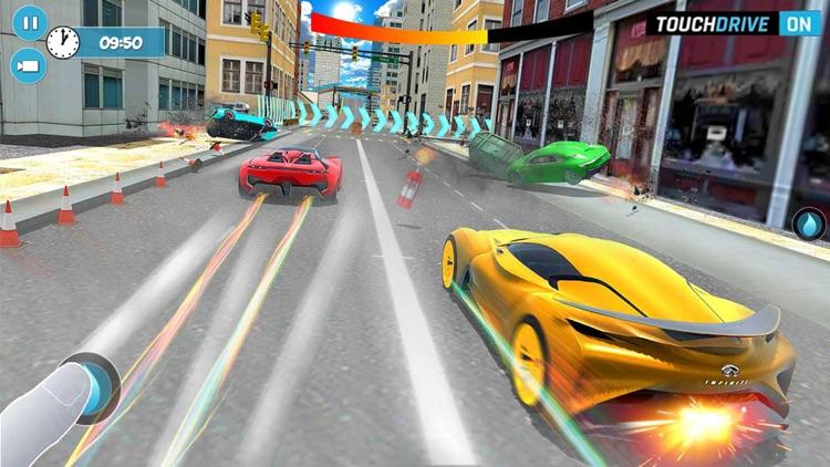 Highway Street Car Nitro Rider screenshot-3