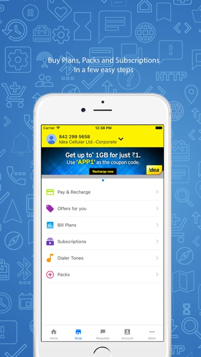 Screenshot #2 pour My Idea-Recharge and Payments