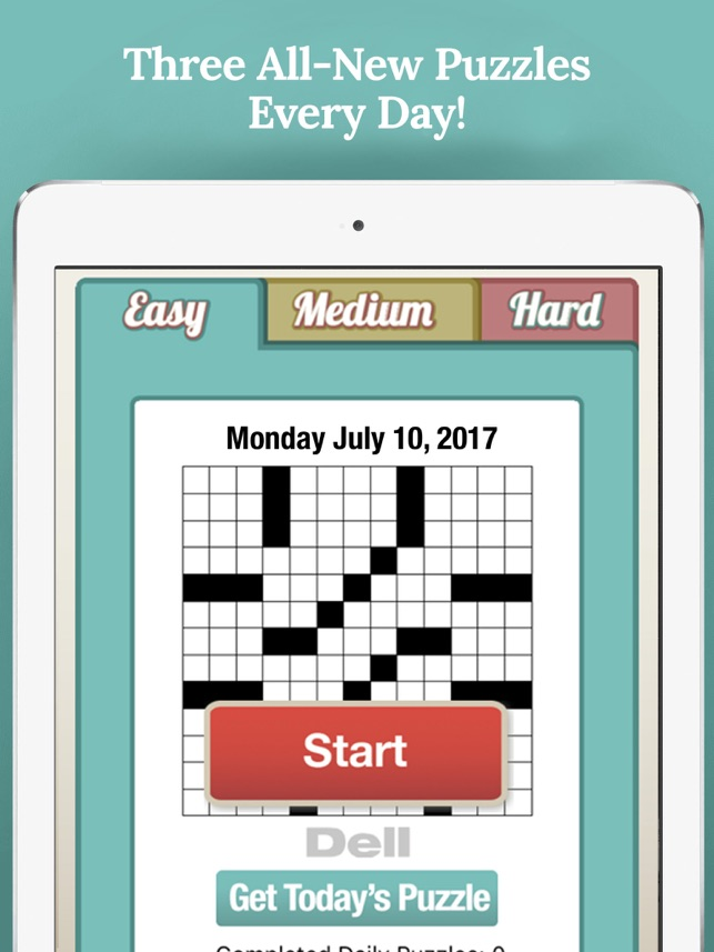 Penny Dell Daily Crossword on the App Store