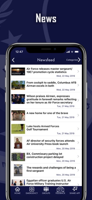 Columbus Air Force Base on the App Store