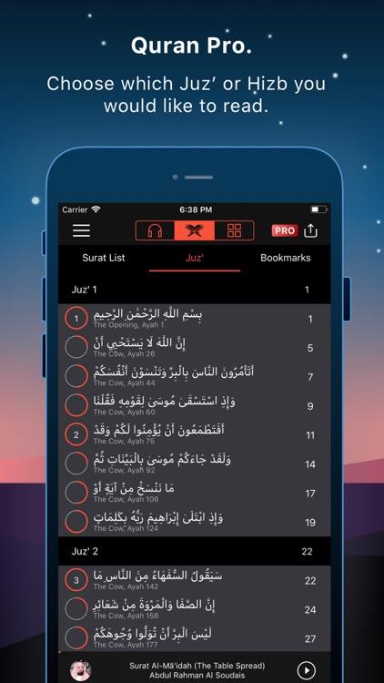 Quran Pro Muslim القرآن الكريم screenshot-6
