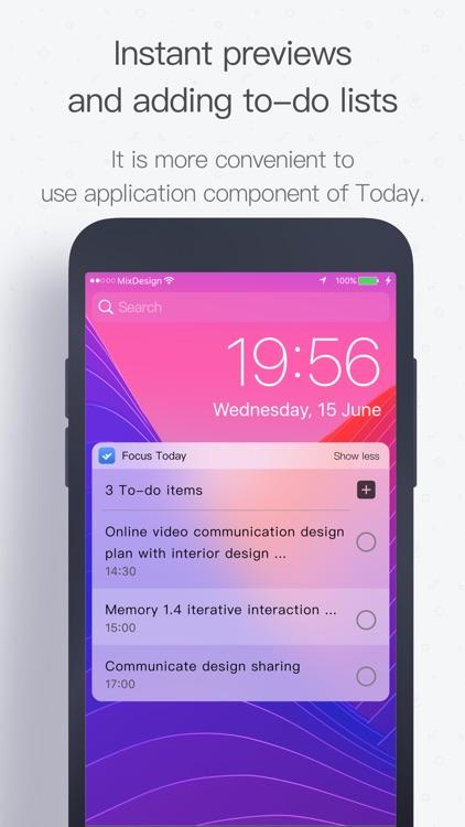FocusToday: To Do list & task screenshot-4