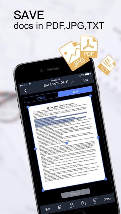 Scanner App:PDF Document Scan Screenshot