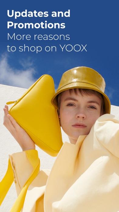 YOOX Screenshot on iOS