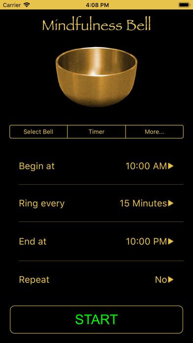 Screenshot #1 pour Mindfulness Bell