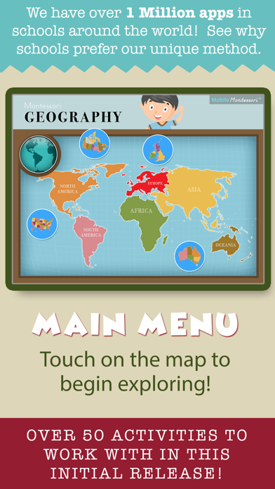 Montessori Ultimate Geography screenshot 2