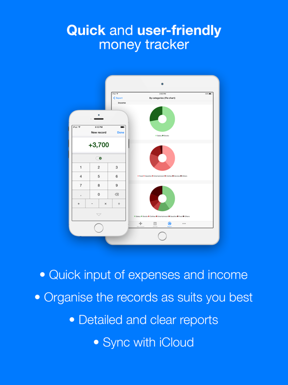 Filki - Expenses and Income Screenshots