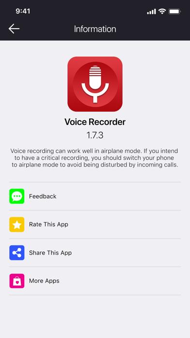 Voice Recorder - VOZ Proلقطة شاشة8