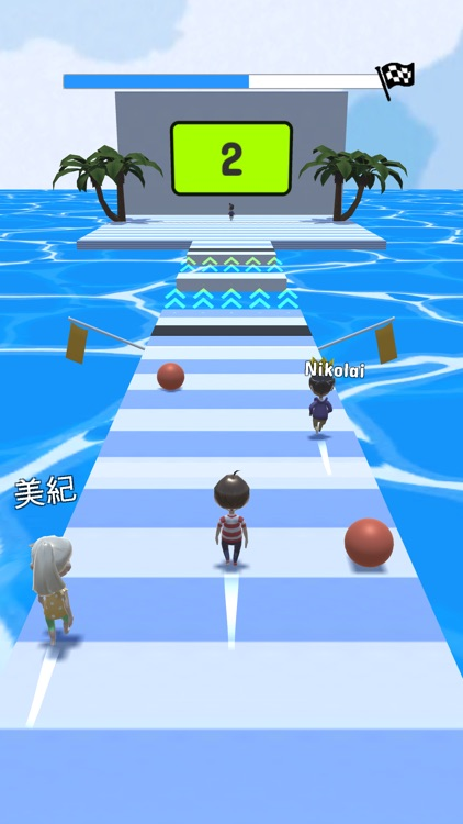 Run Race 3D: Multiplayer Games screenshot-3