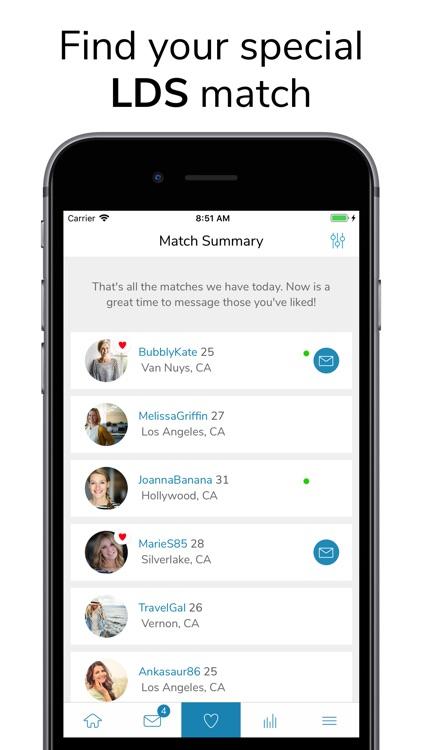 LDS Singles - Dating App screenshot-3