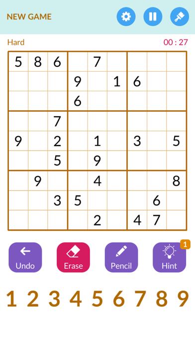 Sudoku1000 -Number puzzle game screenshot 3