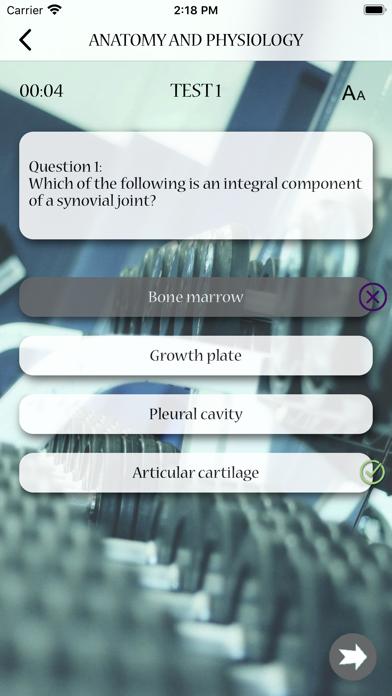 Level 2 Anatomy and Physiology screenshot 3