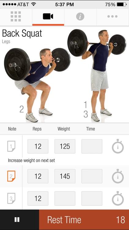 FitnessBuilder screenshot-4