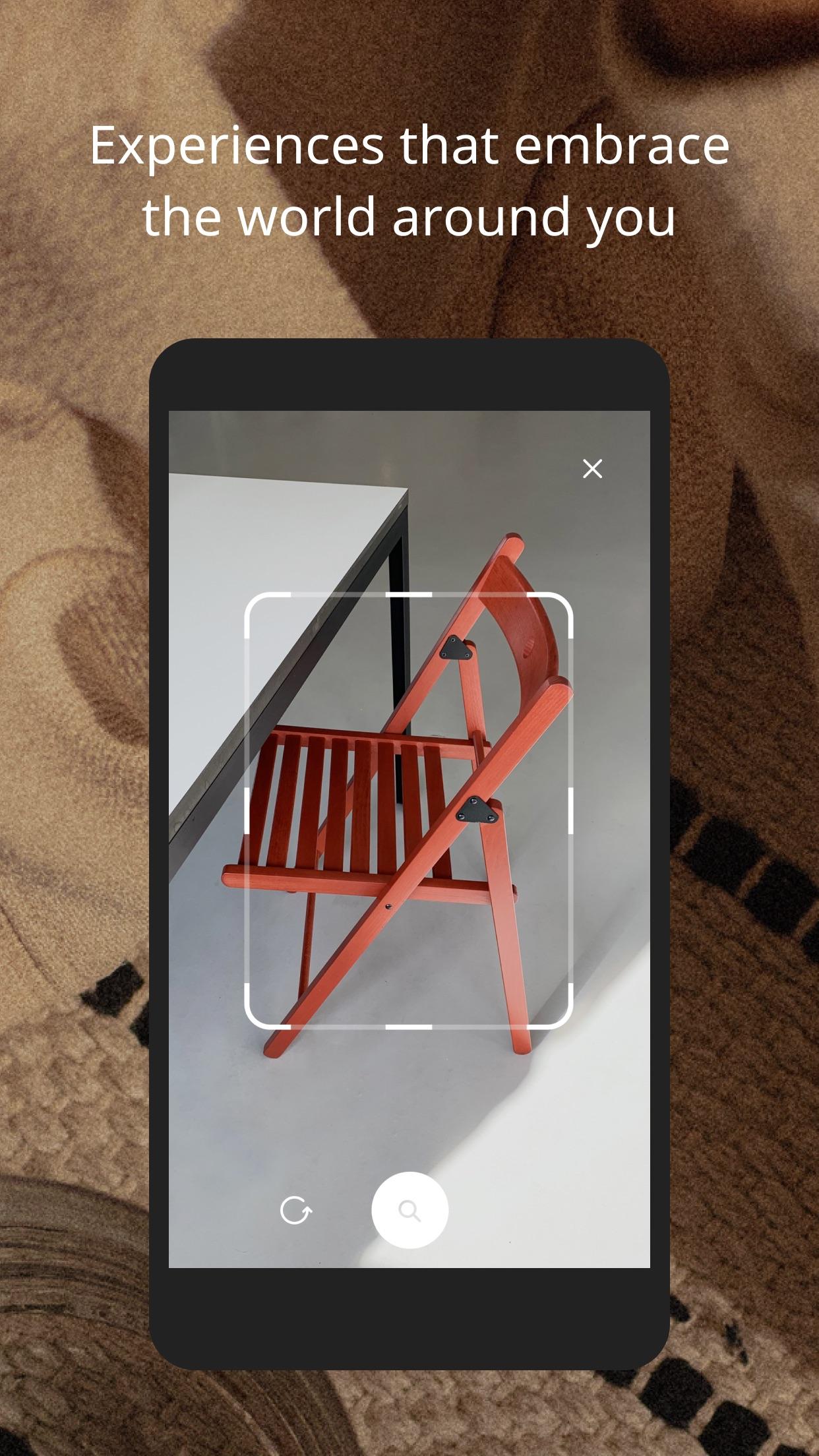 Screenshot do app IKEA Place