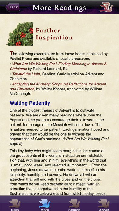 Screen Shot Advent with Pope Francis 5