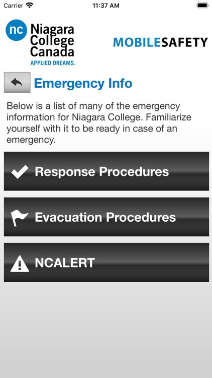 Mobile Safety Niagara College screenshot-4