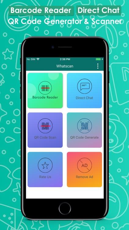 WhatScan: QR Scan DirectChat screenshot-4