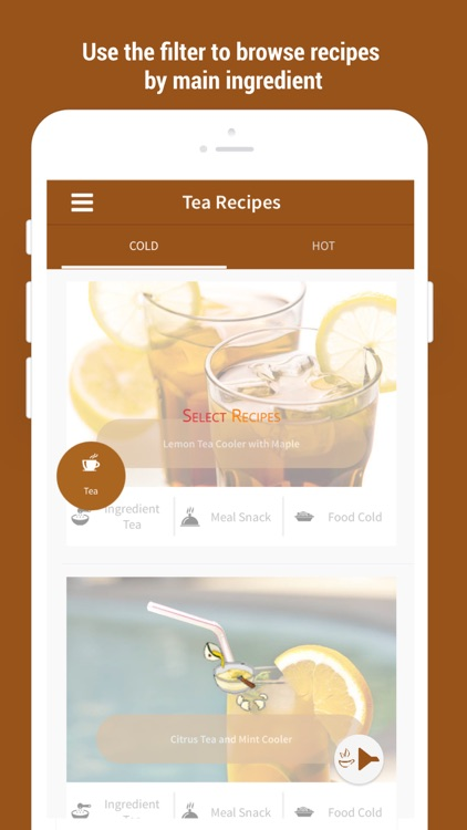 Easy Healthy Tea Recipes screenshot-1