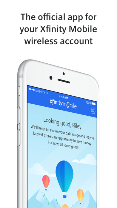 Xfinity Mobile by Comcast (iOS, United States) - SearchMan