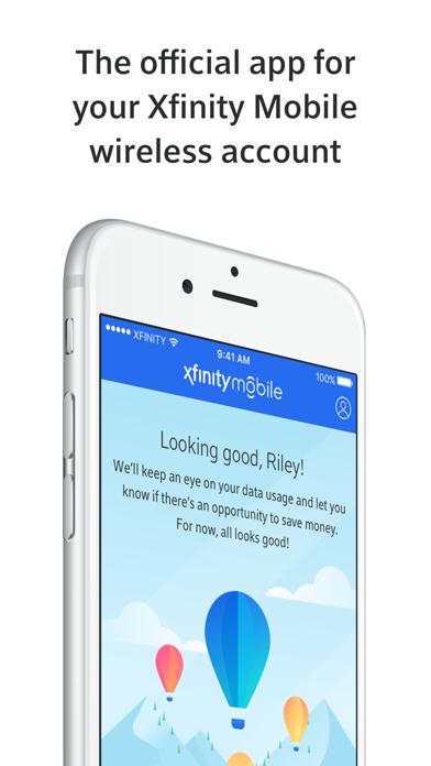 Xfinity Mobile screenshot 1