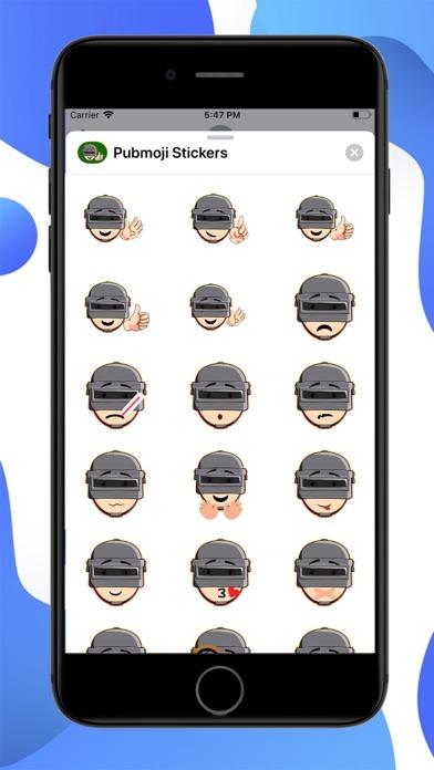Pubmoji Stickers screenshot 1