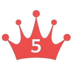 5 Crowns Score Keeper