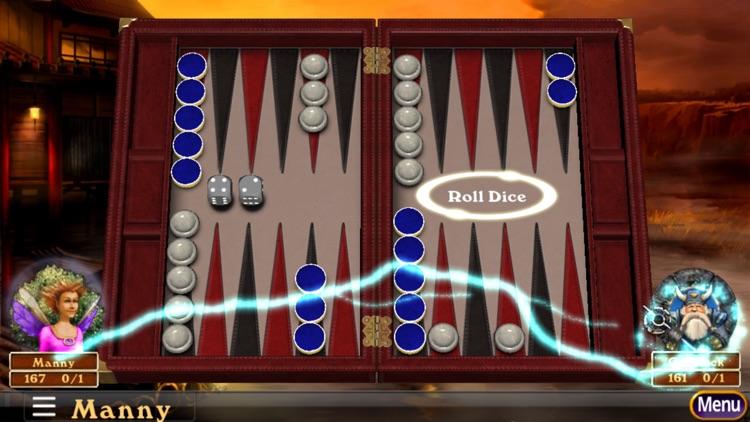 Hardwood Backgammon Pro