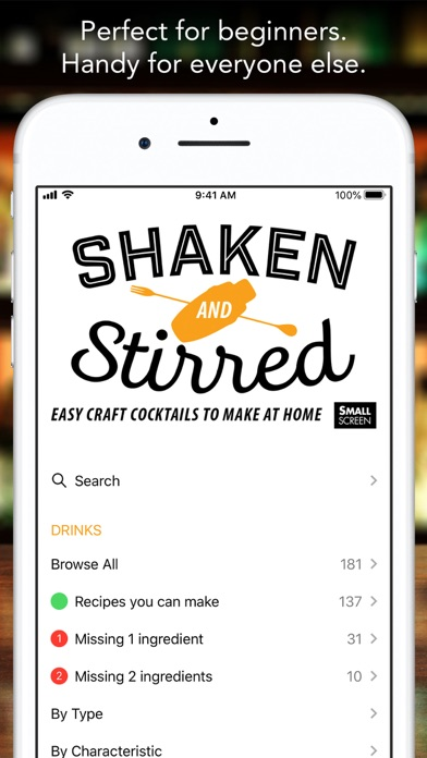Shaken and Stirred Screenshot
