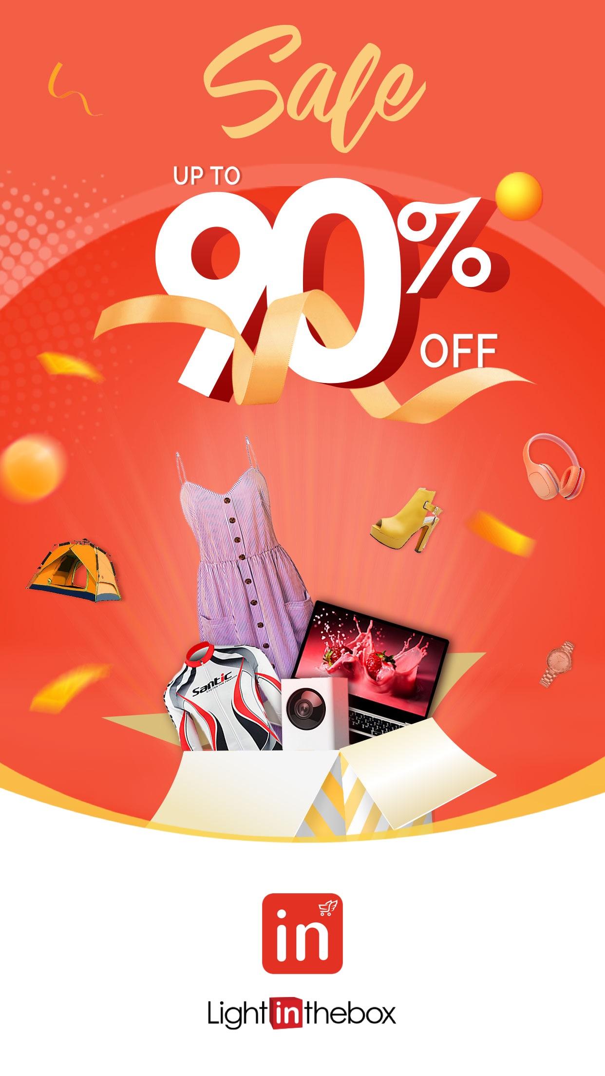 LightInTheBox Online Shopping Screenshot