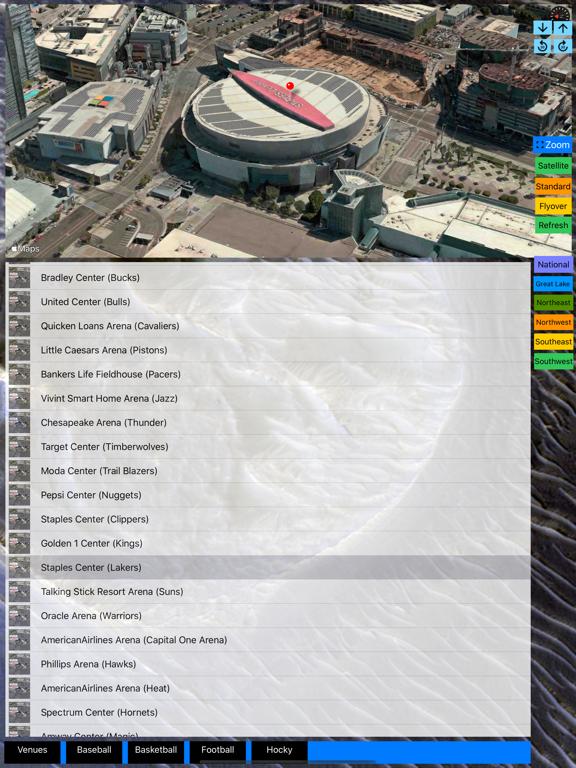 Sport Stadiums Pro - 3D Cities screenshot 19
