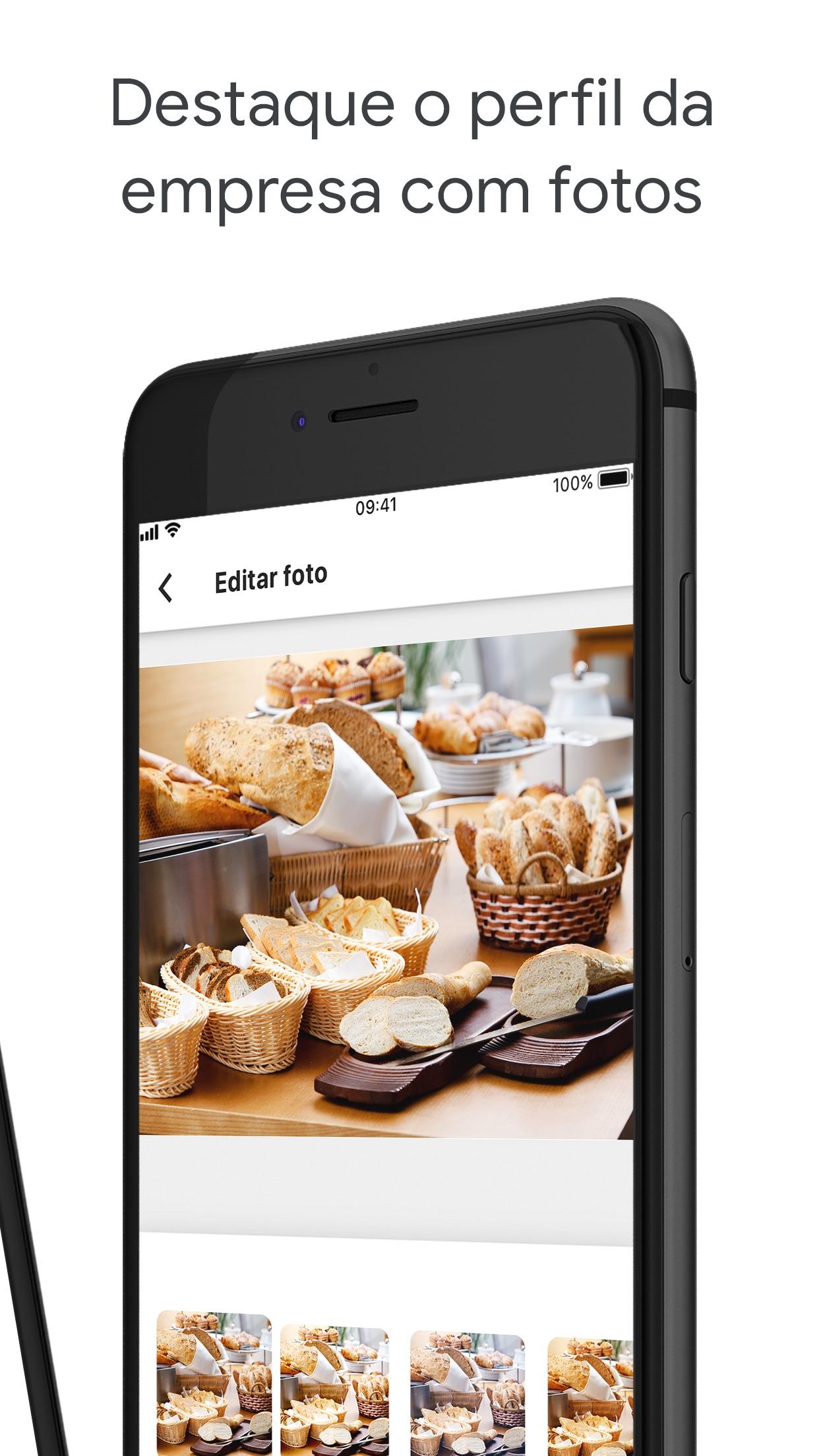 Screenshot do app Google Meu Negócio