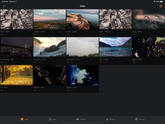 Azul - Video player for iPadのおすすめ画像1