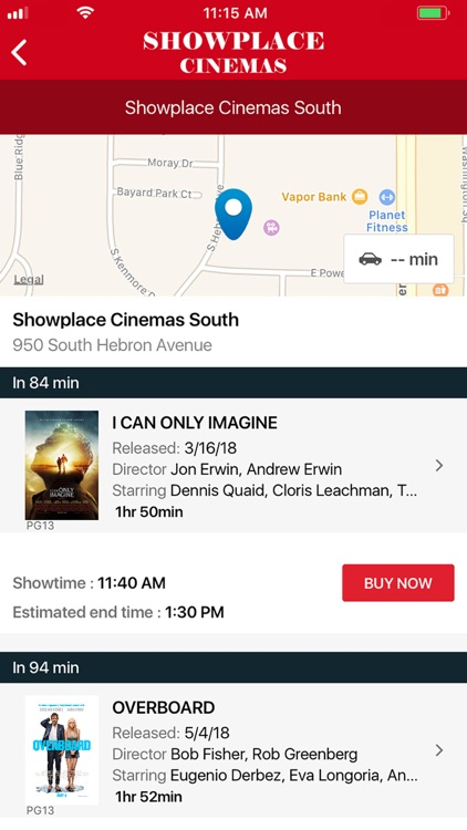 Showplace Cinemas screenshot-3