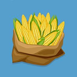 玉米丰收-快乐的玉米Emoji