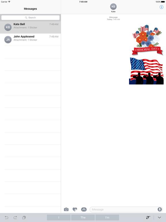 Happy Memorial Day Icon screenshot 4