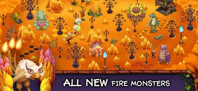 monster world fire full mod apk