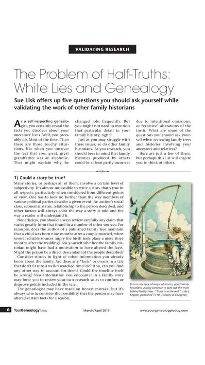 Your Genealogy Today