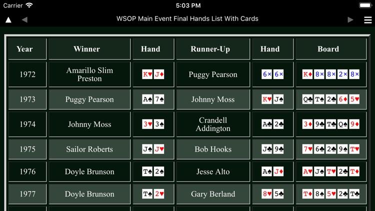 Poker Omnibus W50P screenshot-4