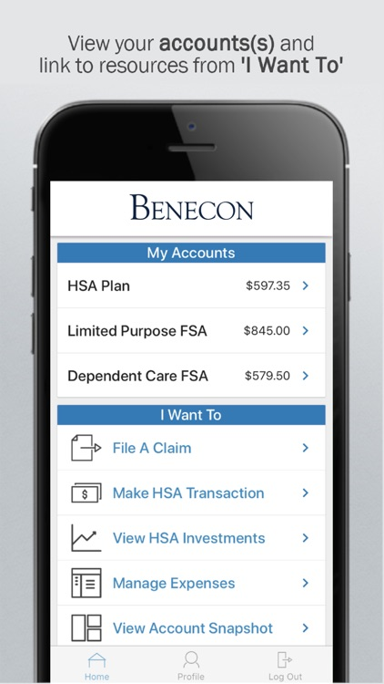 Benecon CDH Mobile by The Benecon Group, Inc.