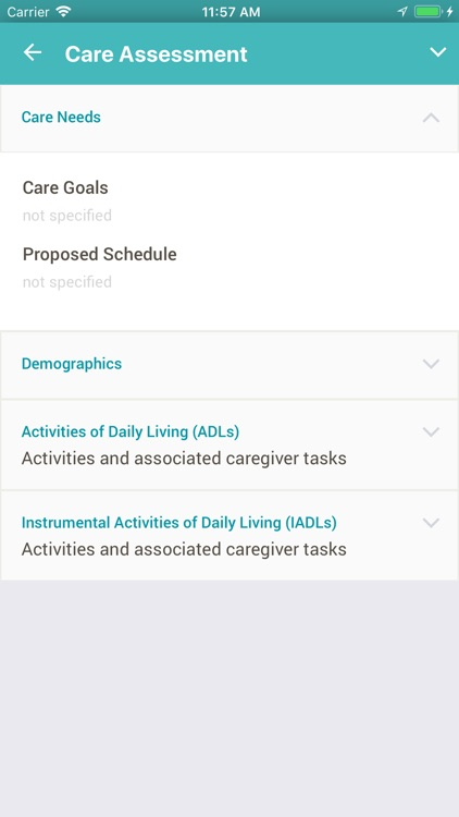ClearCareGo Caregiver