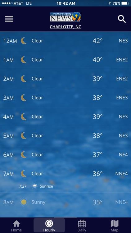 WSOC-TV Channel 9 Weather App screenshot-3