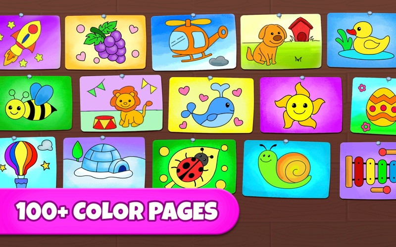Coloring Games: Painting, Glow for Mac