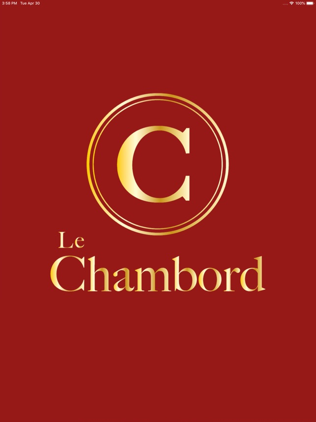Le Chambord on the App Store