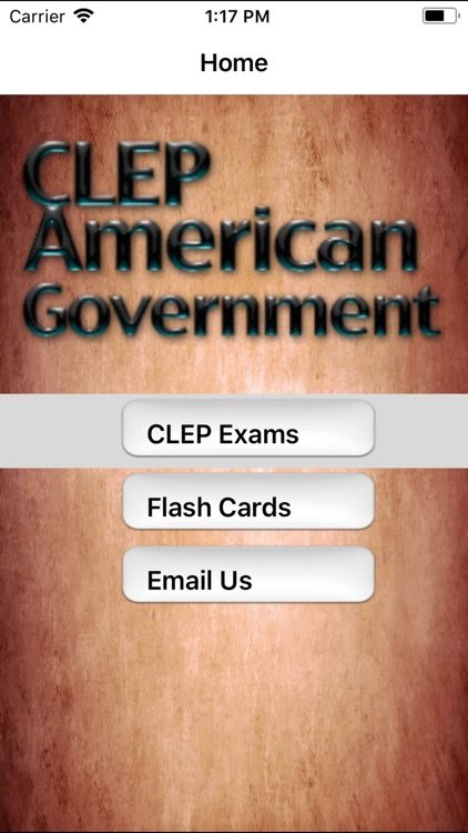 CLEP American Government Buddy