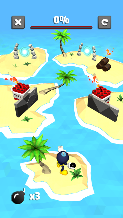 Blow it Up - Explosive Puzzles screenshot one