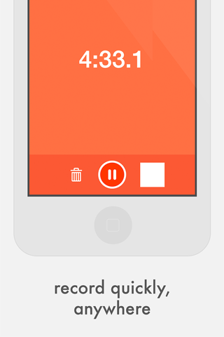 Quick Record Audio Recorder - náhled