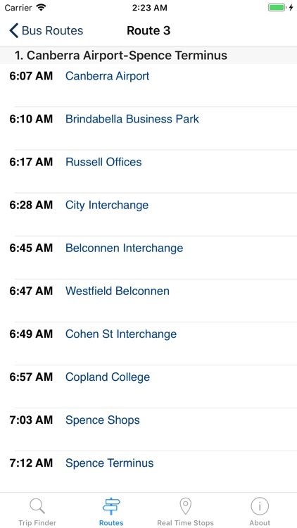 Bus Trips ACT Canberra screenshot-6