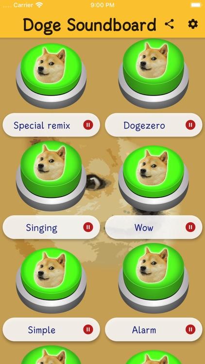 Doge Soundboard