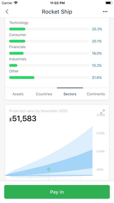 Nutmeg Saving & Investment screenshot four