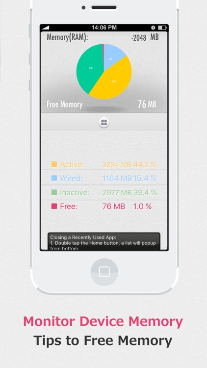 SYSTEM UTIL Dashboard screenshot-3